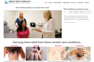 2 Array Skin Therapy Skin Treatment Phototherapy